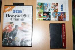 Jeu Sega Heavyweight Champ - Sega