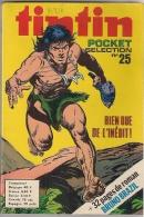 Tintin Pocket - Sélection 25 Avec 32 Pages Du Roman De Bruno Brazil 974 - 1974. - Tintin
