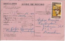 Spain Special Delivery Postcard          (Z-6995) - Espresso