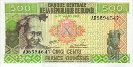 Guinea 500 Francs 1985 Pick 31 UNC - Guinea