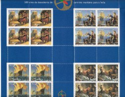 PORTUGAL - Michel - 1996 - Nr 2160/63 (Velletje - Compleet) - MNH** - Blocs-feuillets