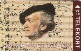 Denmark, TP 053, Richard Wagner, Mint, Only 2000 Issued, 2 Scans. - Denmark