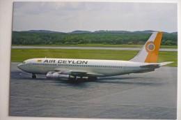 AIR CEYLON  B 720  4R ACS    COLLECTION VILAIN N° 829 - 1946-....: Modern Era