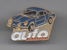 PINS PIN´S AUTO RALLYE  RENAULT ALPINE  BERLINETTE AUTO PASSION - Renault