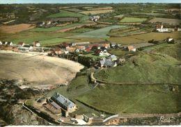 N°40855 GF -cpsm Siouville Sur Mer -vue Géranel Aérienne- - Autres Communes