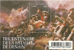 France, The Battle Of Denain,  2012, MNH VF Souvenir Sheet Of 1 - France