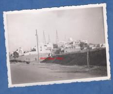 Photo Ancienne - TUNIS ( Tunisie ) - Quartier à Identifier - Derrick , Forage De Pétrole ? - 1935 - Africa