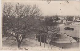 CPA 94 CHARENTON LE PONT -EMBOUCHURE DE LA MARNE 1901 Péniche  A814 - Charenton Le Pont