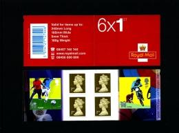 GREAT BRITAIN - SELF-ADHESIVE BOOKLET 6 X 1st  OLYMPICS No 4  MINT NH  PM 26 - Libretti