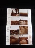 Lot De 14 Photos Plaque De Verre Stéréoscopique Guerre 14-18 Poilus Tranchées Lieux Identifiés Verascope Richard, à Voir - Diapositiva Su Vetro