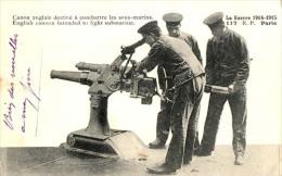 La Guerre 1914  - Canon Anglais Destiné à Combattre Les Sous Marins  : Achat Immédiat - Guerra 1914-18
