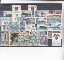 COMORES :timbres Aériens Des Comores De 1968 à 1975 Surchargés Etat Comorien : Y&T : * *:et * : 68à94 - Comores (1975-...)
