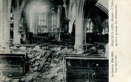 Guerre 1914 -  Beauzè Sur Aire - L'Eglise Aprés Le Passage Des Allemands : Achat Immédiat - War 1914-18