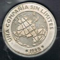 Medalla Conmemorativa ESPAÑA, Ampliacion Capital TELEFONICA 1998 - Profesionales/De Sociedad