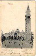 Venezia - Piazza E Basilica Di S. Marco - Précurseur - Venezia (Venedig)