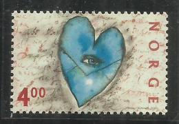 NORWAY NORGE NORVEGIA NORVEGE  2000 ST. VALENTINE'S DAY HEART GIORNO DI SAN VALENTINO CUORE MNH - Nuovi