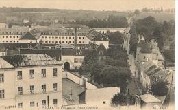 CPA-1905-78-POISSY-VUE Sur  La PRISON-TBE- - Poissy