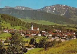 6949- POSTCARD, OBERSTAUFEN- SPA TOWN, PANORAMA, MOUNTAINS - Oberstaufen