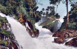1 AK Belgisch-Kongo Heute Demokratischen Republik Kongo * Wasserfall Chutes Guillaume Bei Leopoldville Heute Kinshasa - Kinshasa - Leopoldville