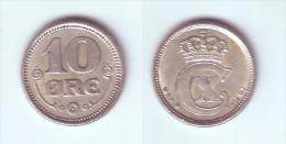 Denmark 10 Ore 1916 - Denmark