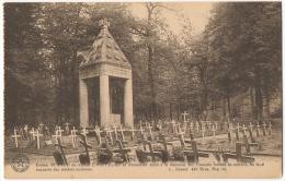 Rossignol. Entrée De La Forêt Où Repose Ernest Psichari Et Monument à La Mémoire Des Français. - Tintigny