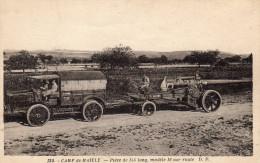 CAMP DE MAILLY, Pièce De 155 Long, Modèle 16 Sur Route - Sin Clasificación
