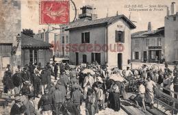 17 -  SAINT MARTIN De RE - Debarquement De Forçats  - 2 Scans - Saint-Martin-de-Ré