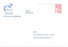 Postreponse Dcc 0304984 - Prêts-à-poster: Réponse /Luquet