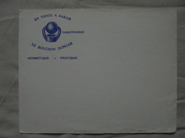 """Ancien Buvard Publicitaire """"En Vente à DAKAR Le Bouchon DONCAR"""" - Buvards, Protège-cahiers Illustrés"""