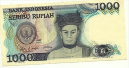 Indonesia - 1.000 Rupiah, - Indonésie