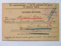 Italia 8 Corrispondenza Prigionieri Di Guerra Petrograd Rusia - Italia