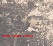 Photo Ancienne - Militaire Dragon - Voir Casque , Uniforme , épée - Guerre, Militaire