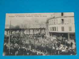 94) L'isle Saint-pierre - Charenton - Obsèques Du Cantonnier DUBREUIL - Inondation Du 29 Janvier 1910 - Charenton Le Pont
