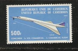 Kamerun   Mi 818 **  Jg. 1976    Flugzeug  Concorde  Flugzeuge - Vliegtuigen