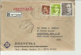 MADRID CC CERTIFICADA SELLOS BASICA MAT HEXAGONALY  RODILLO - 1931-Hoy: 2ª República - ... Juan Carlos I
