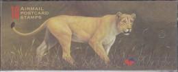 South Africa 1998 Big Five Lion Booklet ** Mnh (18067) - Boekjes