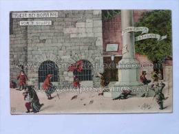 Trieste 118 Triest Bei Bora Vor S Giusto No 6 Ed Sabbadini No 6 - Trieste