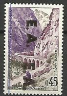 ALGERIE N � 356 DOUBLE SURCHARGE NEUF** LUXE / MNH