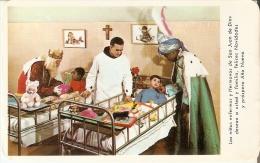 CALENDARIO DEL AÑO 1968 DEL HOSPITAL DE SAN JUAN DE DIOS (CALENDRIER-CALENDAR) REYES MAGOS - Tamaño Pequeño : 1961-70