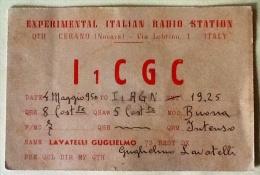 Radio Sperimentale Dati Di Frequenza Viaggiata Del 1956 - Storia