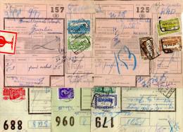 """Belgique 1951 """" Documents De Colis Postaux """" Postal History - Timbres"""