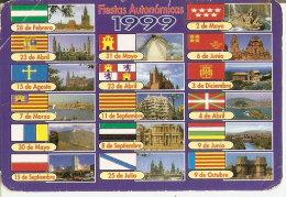 CALENDARIO DE ESPAÑA DEL AÑO 1999 DE UN MOLINO (CALENDRIER-CALENDAR) MOLINO-MILL-MOULIN - Calendriers