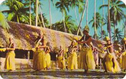 French Polynesia Tamure Dancers At Bora Bora - Polynésie Française
