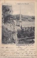 Luxembourg - Eglise De Grund - Cachet Postal 1899 Esch Sur Alzette Paris - Esch-Alzette