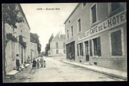 cpa  du 21 Lux Grande Rue   ..  Is sur Tille Dijon   AO39