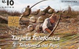 *PERU´* - Scheda A Chip Usata - Peru
