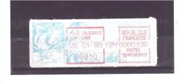 (Cagou Vignette à La Date Du 26/01/99) *NOUVELLE CALEDONIE*  25/09/111 - Automatenmarken