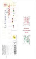 """CARNET 1520A Marianne De Ciappa-Kawena """"LA REPUBLIQUE AU FIL DU TIMBRE"""" Gommé Peu D´exemplaires Et Peu Proposé. A Saisir - Carnets"""