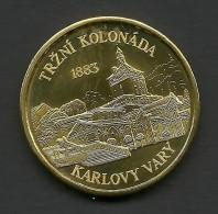 Czech Republic, Karlovy Vary, Trzni Kolonada, Souvenir Jeton - Tokens & Medals