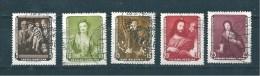 Allemagne Fédérale Timbres De 1957  N°302 A 306  Oblitéré - DDR